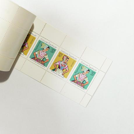 旧東ドイツ ソルブ人 切手ブック
