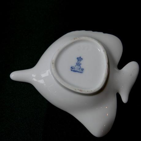 旧西ドイツ 魚型 小皿