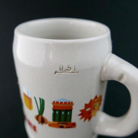 陶器 ビアジョッキ