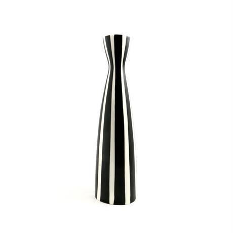 ストライプの花瓶
