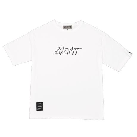 BIG SILHOUETTE T-SHIRT / WHITE <L-2125>