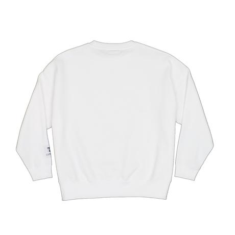 BIG SILHOUETTE SWEAT / WHITE <L-2005>