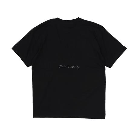 T-SHIRT / BLACK <L-2001>