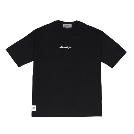 BIG SILHOUETTE T-SHIRT / BLACK <L-2137>