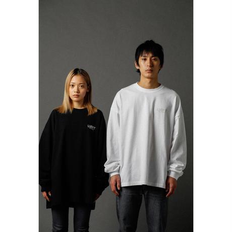 BIG SILHOUETTE LONG SLEEVE T-SHIRT  / BLACK <L-2004>