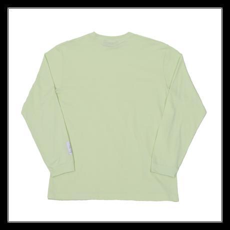 LONG SLEEVE T-SHIRT / LIME GREEN <L-2118>