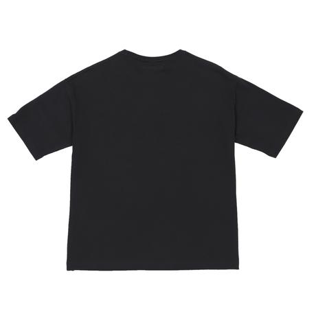 BIG SILHOUETTE T-SHIRT / BLACK <L-2125>