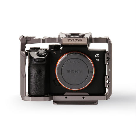 Full Camera Cage for Sony a7/a9 Series – Tilta Gray