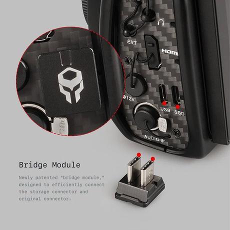 BMPCC 4K/6K Display Modification Kit B (NVMe SSD Case)