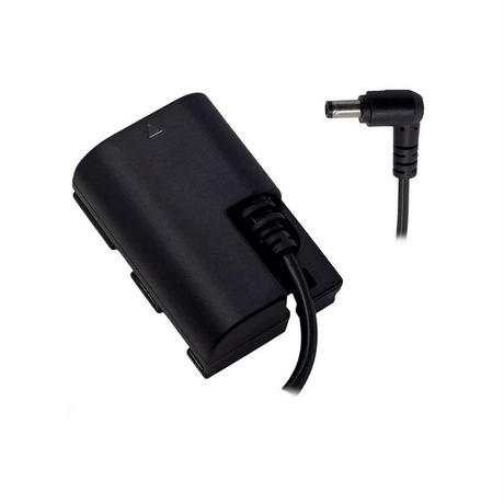DC Dummy Battery - Canon to 5.5/2.1mm DC Male