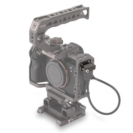 HDMI Clamp Attachment for Sony A7/A9 Series - Tilta grey