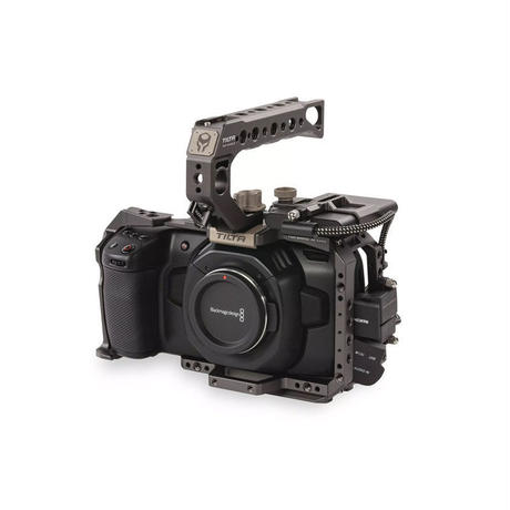 Camera Cage for BMPCC 4K – Basic Kit (Tilta Grey)