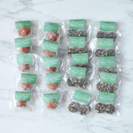 冷凍インド菓子【2種×10パック】送料込/グラブジャムン/デーツ&ナッツバルフィ