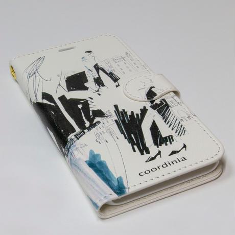 コーディニア iPhone ケース(手帳型)コーディネート