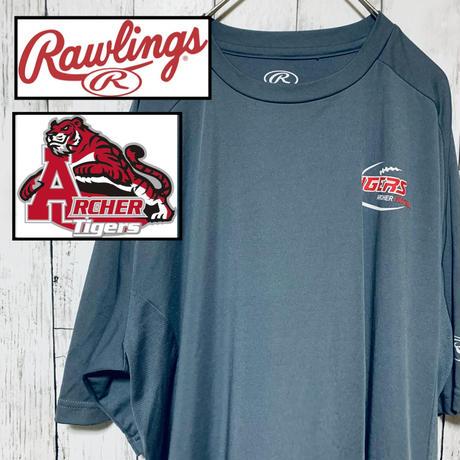 US 古着 スポーツ Rawlings ローリングス タイガー 半袖 Tシャツ
