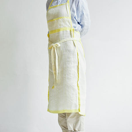 "Apron ""Sashiko cloth"""