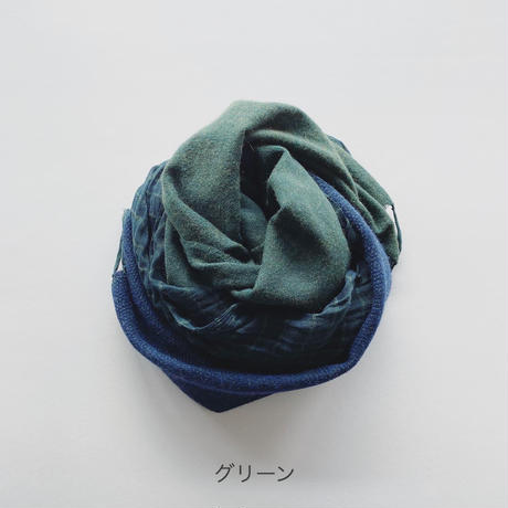 ふたまたストール [寒色系]