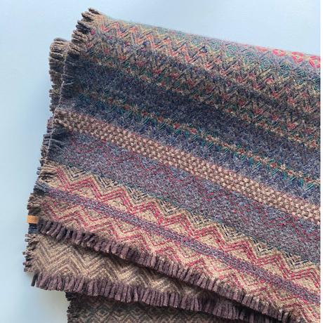 COOVA©️トライバルラグ [110×95cm]  刺繡
