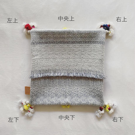 COOVA©️ タッセル付き民族クッション [40×40]