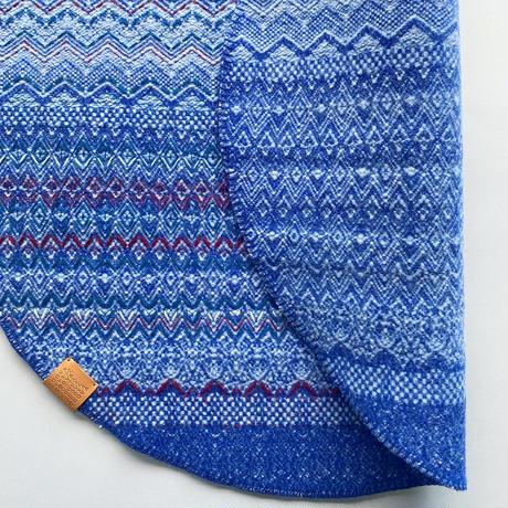 COOVA©️トライバルラグ [Φ80cm] 刺繍