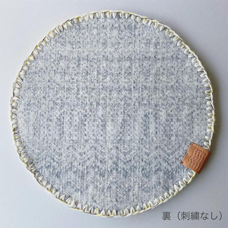 COOVA©️ トライバルラグ [Φ35cm]  刺繍