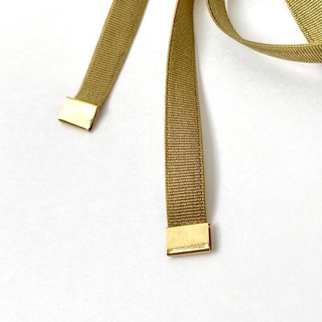 [ olive ]  hair ribbon cuff
