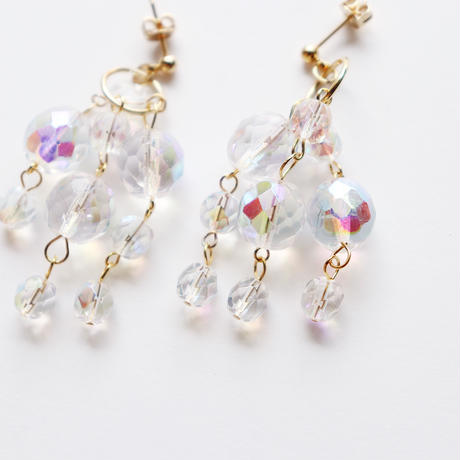 [gold]aurora shower pierce/earring