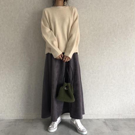 スエードロングスカート(3color)