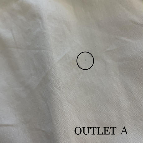 【OUTLET】ゆる可愛いノーカラーシャツ(2color)