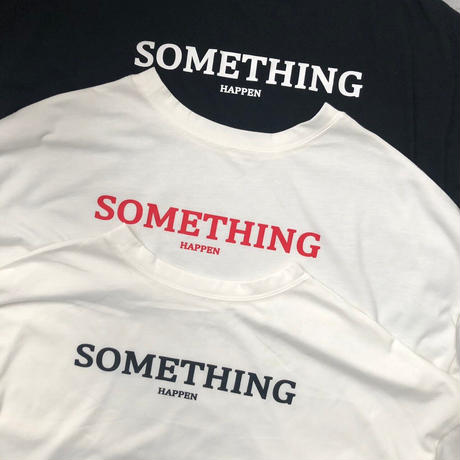 5分袖ロゴショートTシャツ(3color)