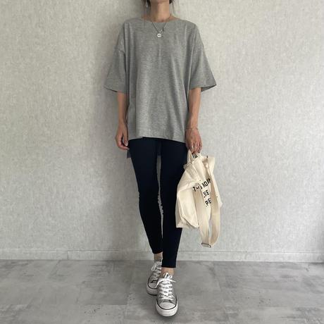 裾スリットオーバーサイズTシャツ(3color)