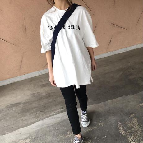 再入荷!ビッグシルエット!ロゴロングtシャツ (3color)【クリックポスト対象商品】