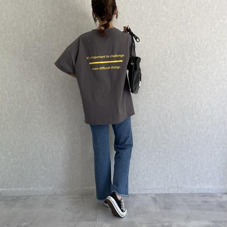 【期間限定!3960円→3366円】裾フリンジセンターシームソフトフレアデニム(2color/2size)