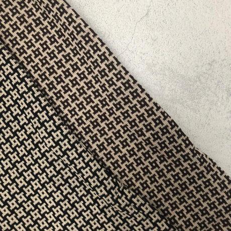モノグラム柄ジャガードカットパンツ(2color)