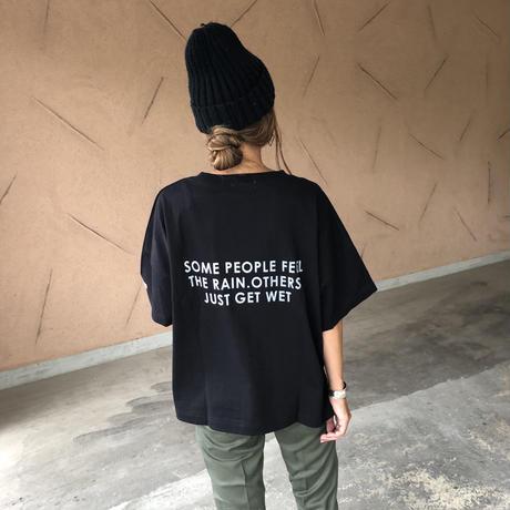 再入荷!しっかり素材!ポケット付きバックロゴtシャツ (3color)【クリックポスト対象商品】