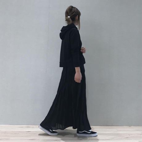 大好評!再入荷!シフォンワッシャープリーツロングスカート(3color)【クリックポスト対象商品】