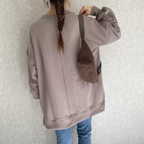 裏起毛ビッグシルエットスウェット(2color)