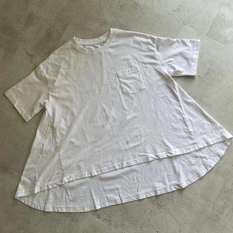 バイオ加工バックフレアTシャツ