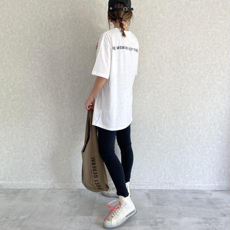 フロント&バックロゴTシャツ(2color)