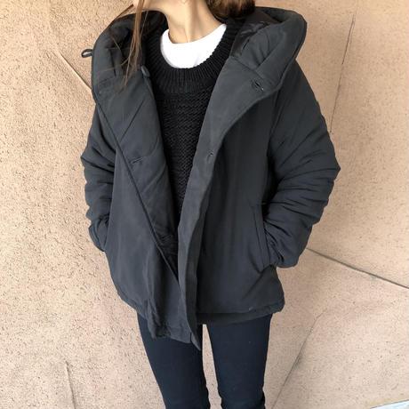 中綿フード付きジャケット