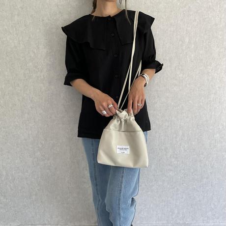 巾着ミニショルダーバッグ (3color)