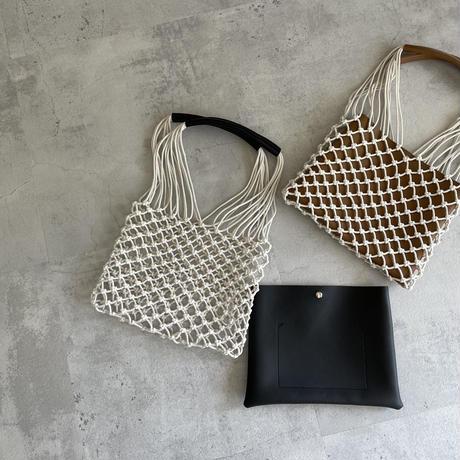 2wayロープネットバッグ(2color)