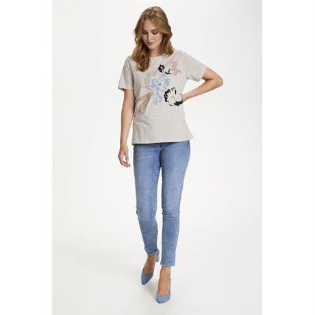Saint Tropez/花柄Tシャツ