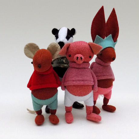 SKIPPITY HOPP/英国ハンドメイド・マウス人形