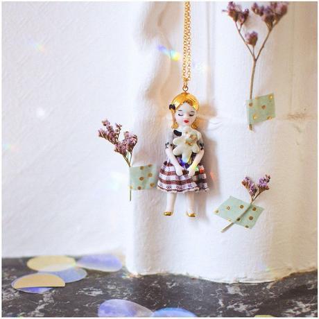 ナターシャプラノ/ブロンディ人形ネックレス【再入荷】