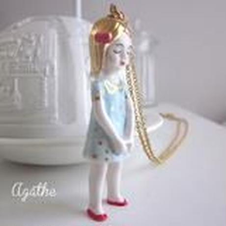 【再入荷】ナターシャ・アガトゴールドネックレス/paris/『母の日プレゼント30代』