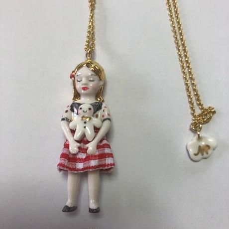 ナターシャプラノ/ノエル人形ネックレス「プレゼント」