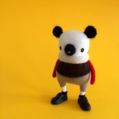SKIPPITY HOPP/ 英国ハンドメイド・白黒マウス