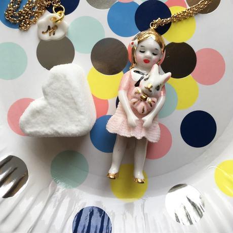 【再入荷】Natachaナターシャ/アリスピンクゴールドネックレス『プレゼント30代女性』