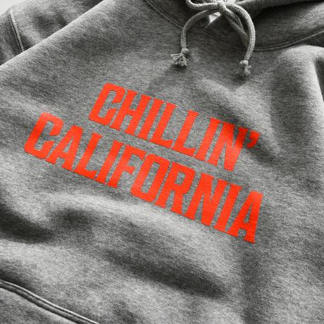 YouthFUL SURF®︎ × Coral Cruiser .   Chillin' california  Hooded Sweatshirts【Gray】